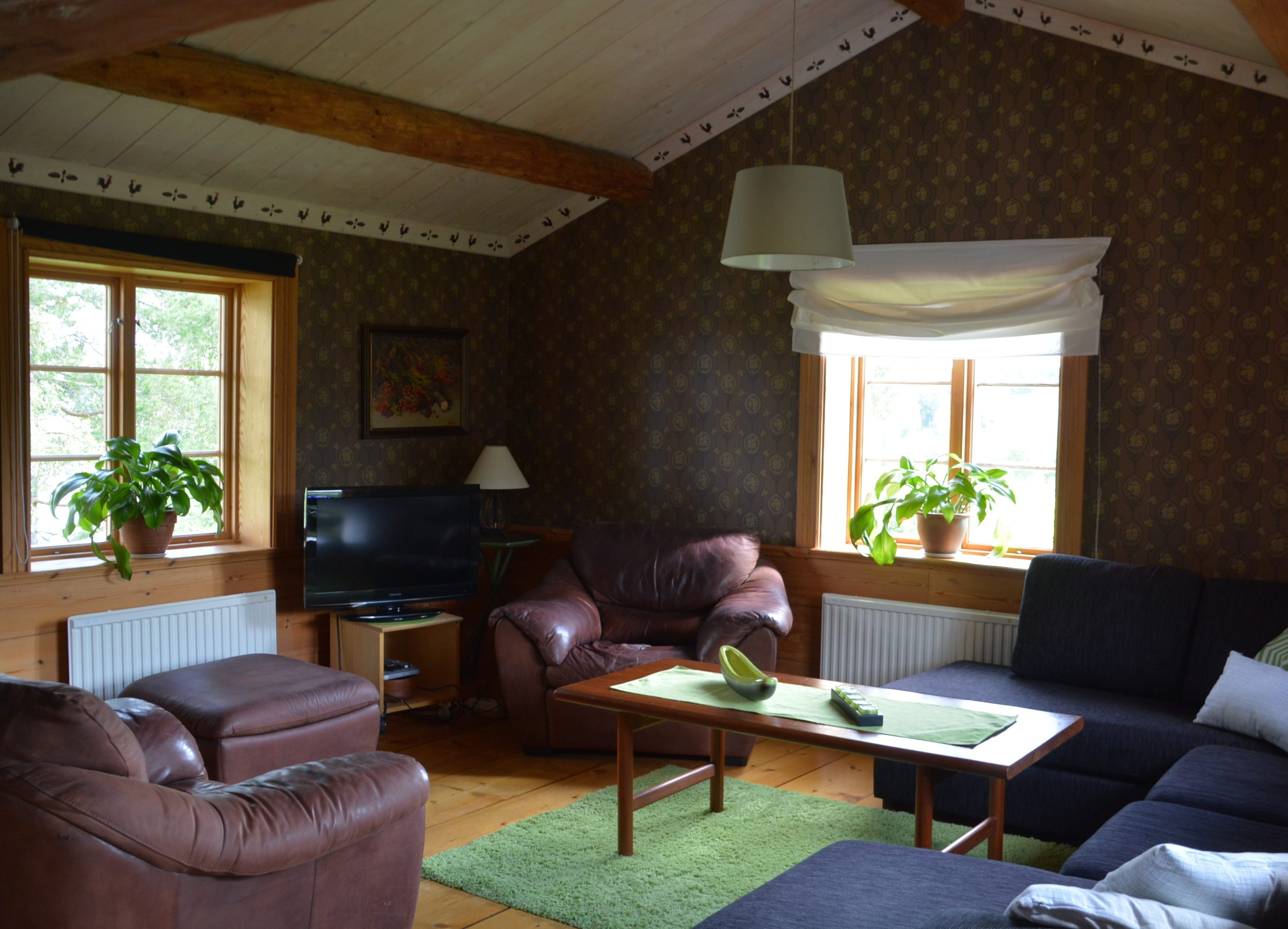 Living room in the lodge