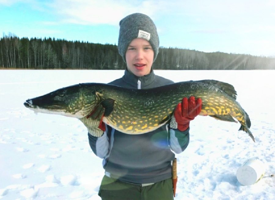 The ice-fishing is very good to!