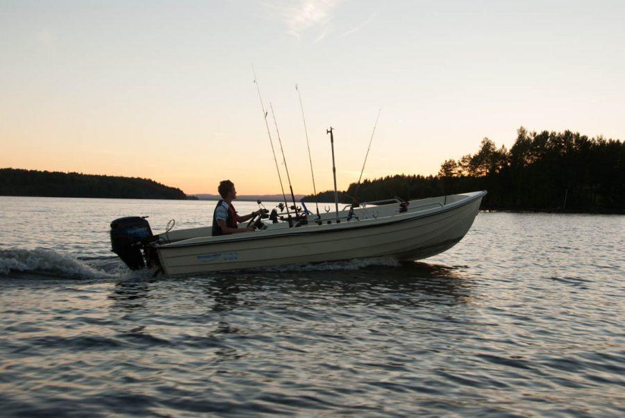 Rental boat